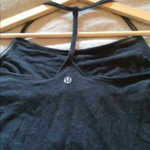 lululemon t-back tank